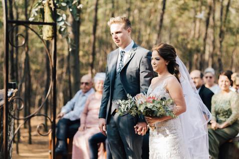 Nikita & Pieter Wedding, Harmonie Proteas