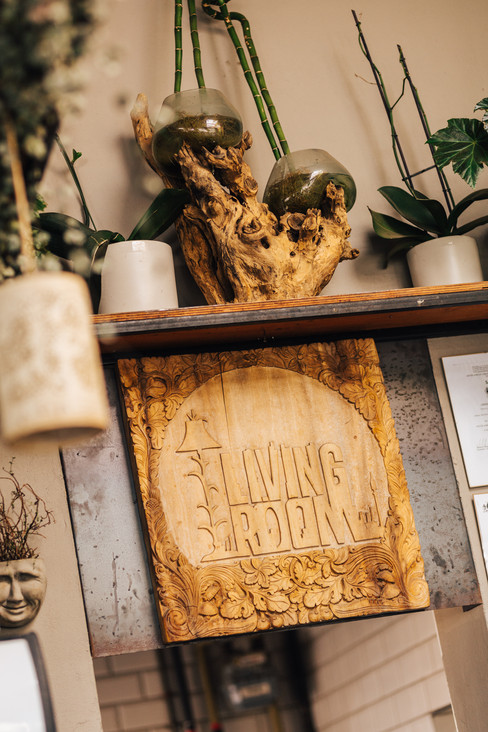 Farryn & Jed Wedding, The Living Room