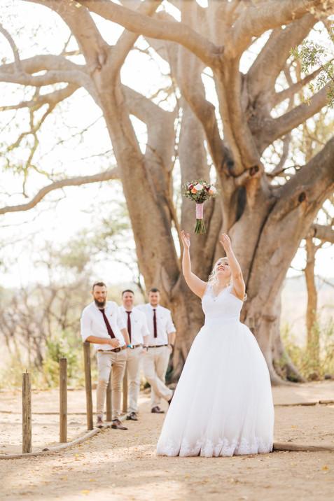Chantel & Johan Wedding, Kuthaba Lodge