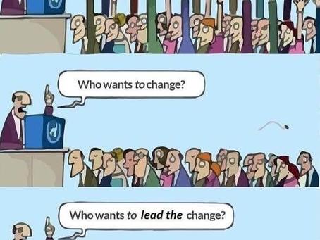 Wer möchte eine Veränderung?