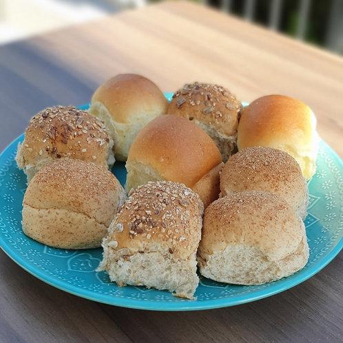 Mini pães