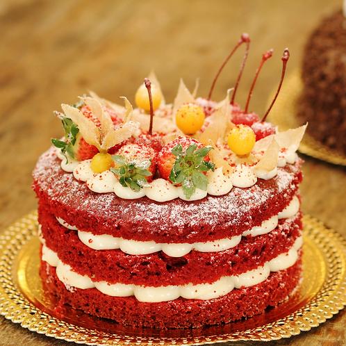 Naked Cake de Frutas - 1Kg