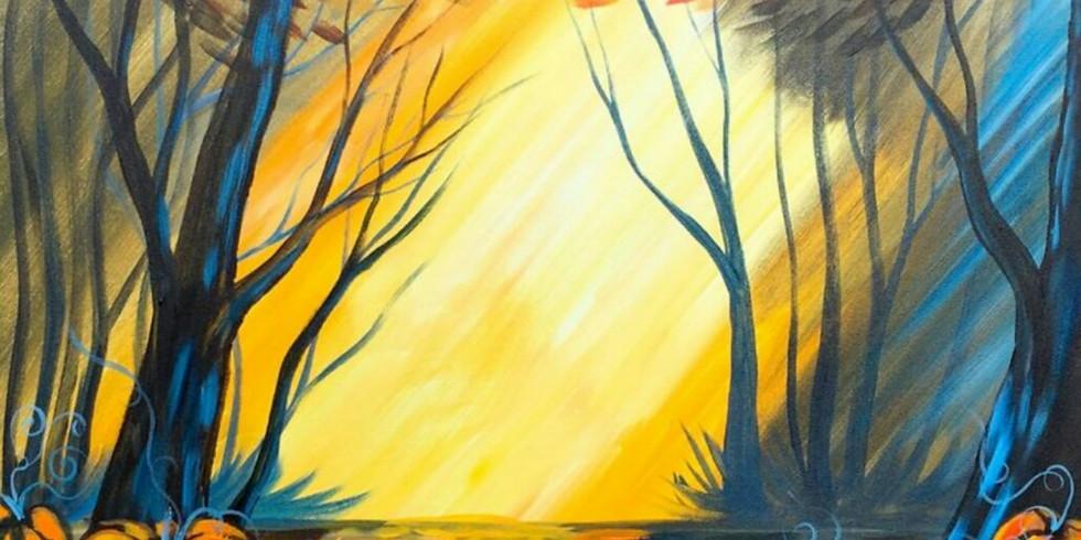 """""""Autumn Stroll"""" Paint Night"""