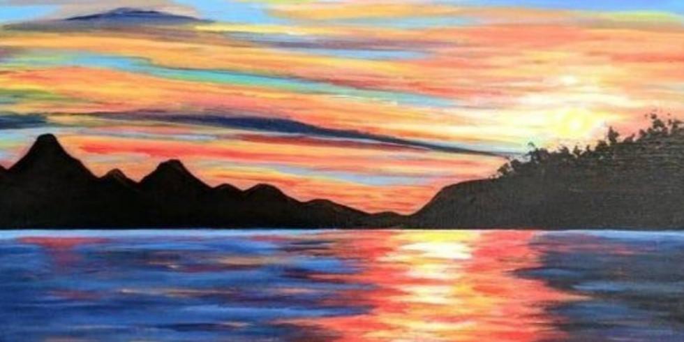 """""""Fall Sundown""""  Paint Night"""