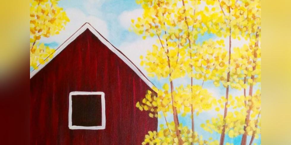 """Fall Barn Scene"" Paint Night"