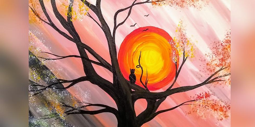 """Hallows Eve"" Paint Night"