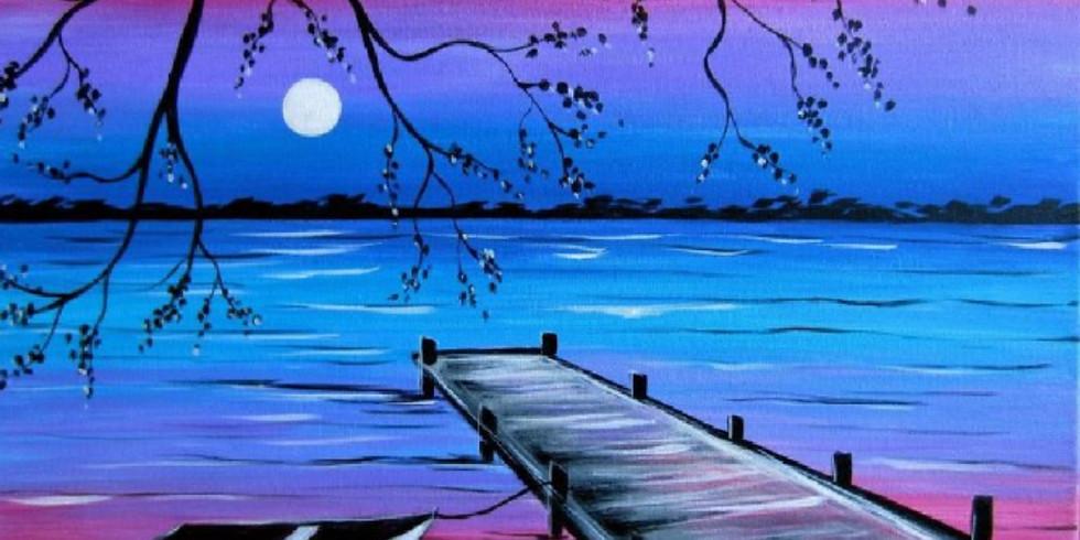 """""""Glooming Nightfall"""" Paint Night"""