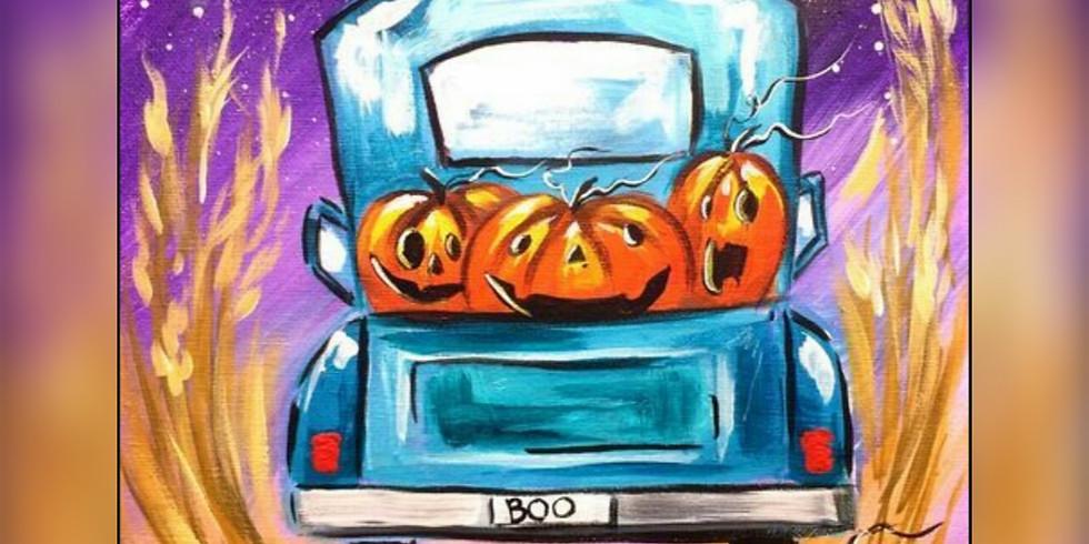 """Truck O'Lantern"" Paint Night"
