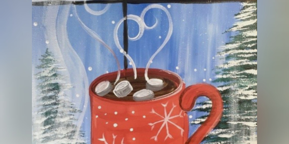 """""""Baby It's Cold Outside"""" - Paint Night"""