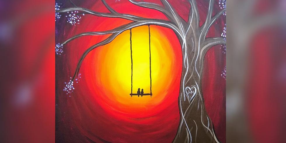 """""""Sweetie Birds"""" - Paint Night"""