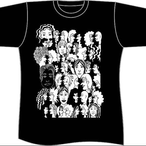 Camiseta caleidoscópio