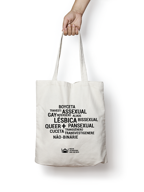 Sacolas Ecobag Mostra Drag King Queer