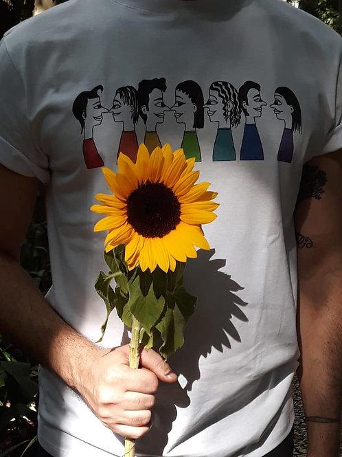 Camiseta cores do orgulho