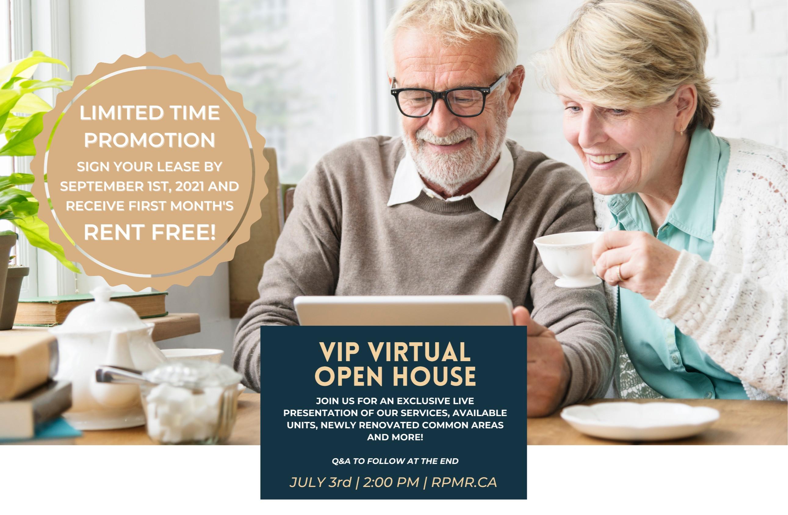 VIP Virtual Open House (English)