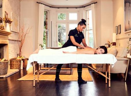 On m'a offert un massage