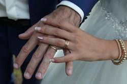 Ongles en gel french mariage