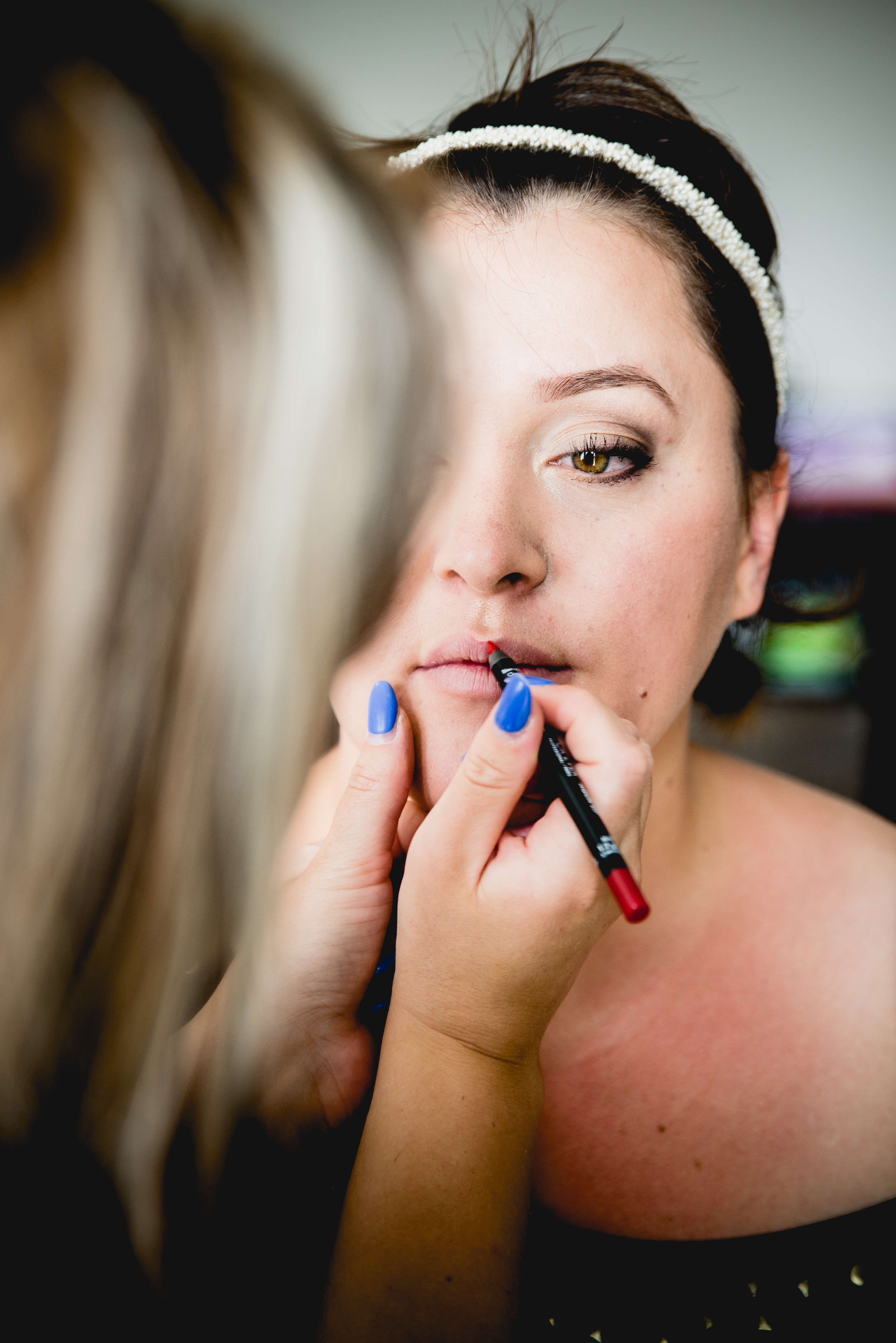 Maquillage mariage Crédit photo : Jessica Bossis