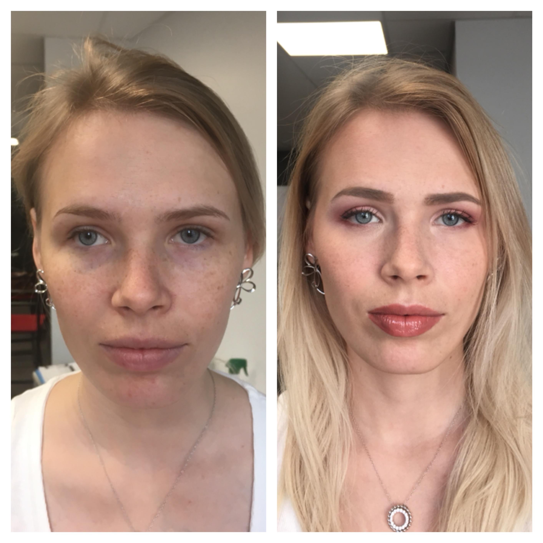 Avant/Après Maquillage