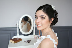 Maquillage mariée crédit photo : Cynthia Cappe