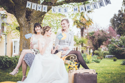 Maquillage mariage crédit photo : Elise Demartelaere