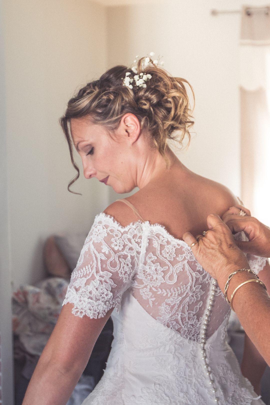 Maquillage mariée crédit photo : Julien Bergeaud