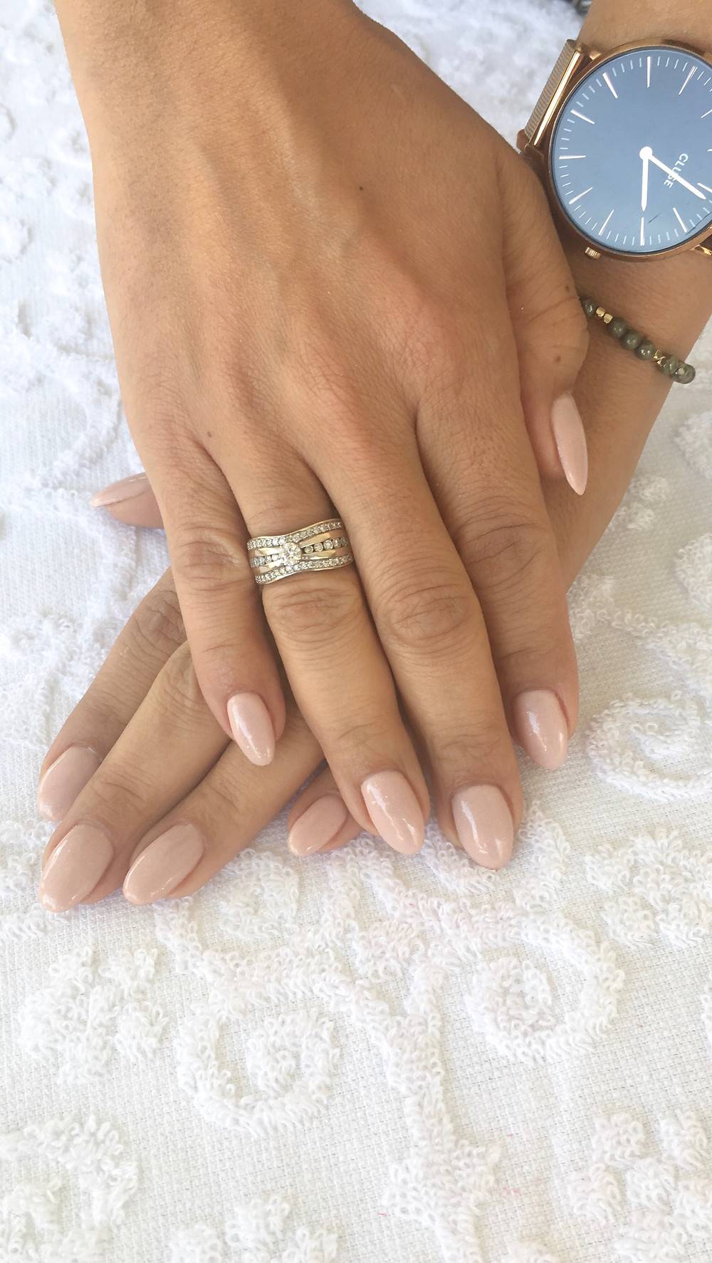 Ongles en gel nude
