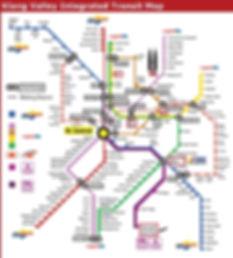 KL Transit Map