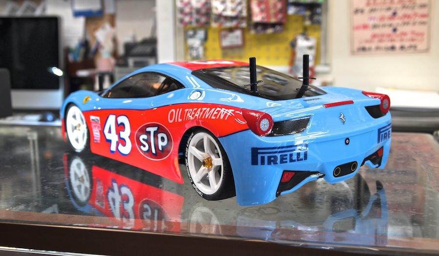タミヤ・フェラーリ458チャレンジ