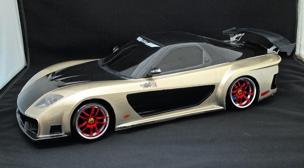 ヴェイルサイド フォーチュンモデルRX-7(ゴールドカラー)