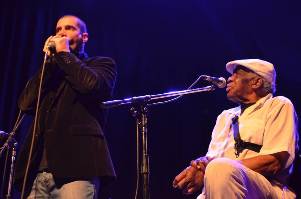 With Eddy Shaw