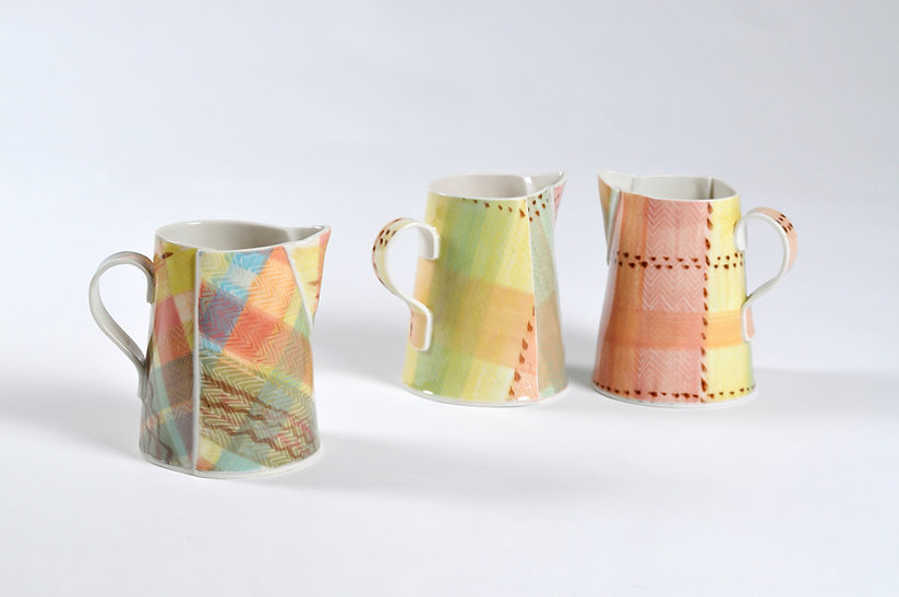 Olwen Thomas porcelain blanket jugs 3.jp