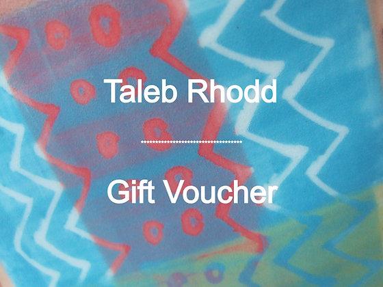 Taleb Rhodd - Gift Voucher