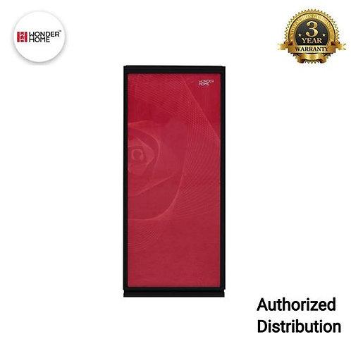 WHF-DF-S200L Wonder Home Single Door Defrost Red Glass Door Refrigerator 200L
