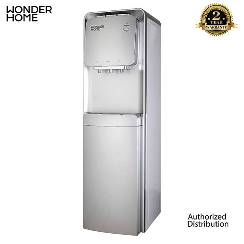 WHW-D2-S Wonder Home Top Loading Three-tap Water Dispenser W/ Refrigerator