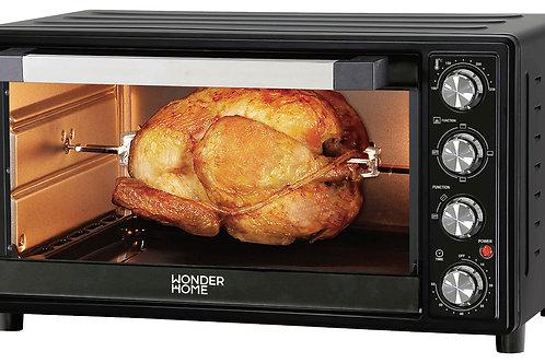 Wonder Home 45 Liter Electric Toaster Oven ( WH-O-45B) Black