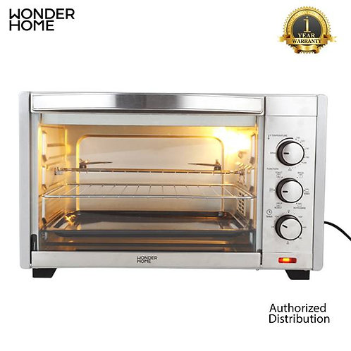 WH-O-35 Wonder Home Stainless Steel Electric Oven 35 Liter 1600W