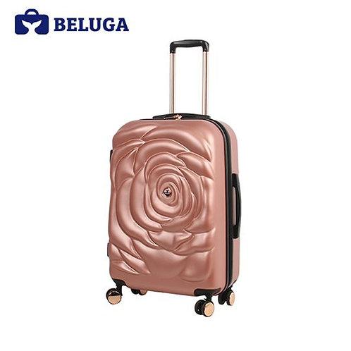 BE-ROSE-20RG BELUGA Rose Lady Collection Rose Gold Travel Luggage