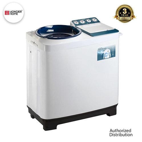 WH-WM-D11 Wonder Home Semi Auto Twin Tub Washing Machine 11 KG