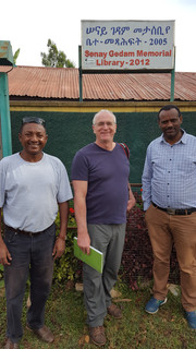 Curt with Fanuel and Zerihun