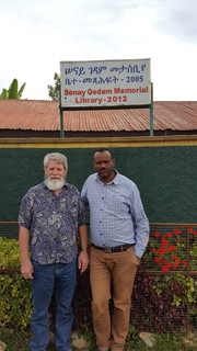 Jim and Zerihun from US and Addis Abaa