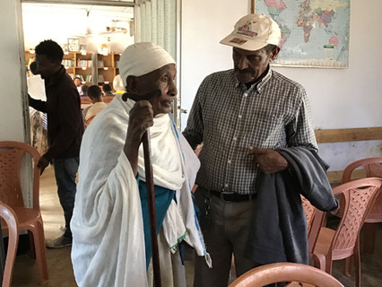 Emahoy Zenebu and Captain Fasika