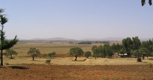 View of Dangla from Ziguda