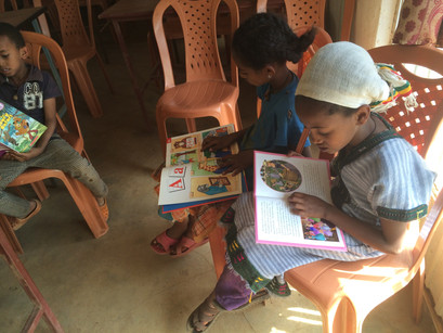 Kids Reading Story Books