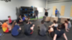 CrossFit Hiringa nos coachs
