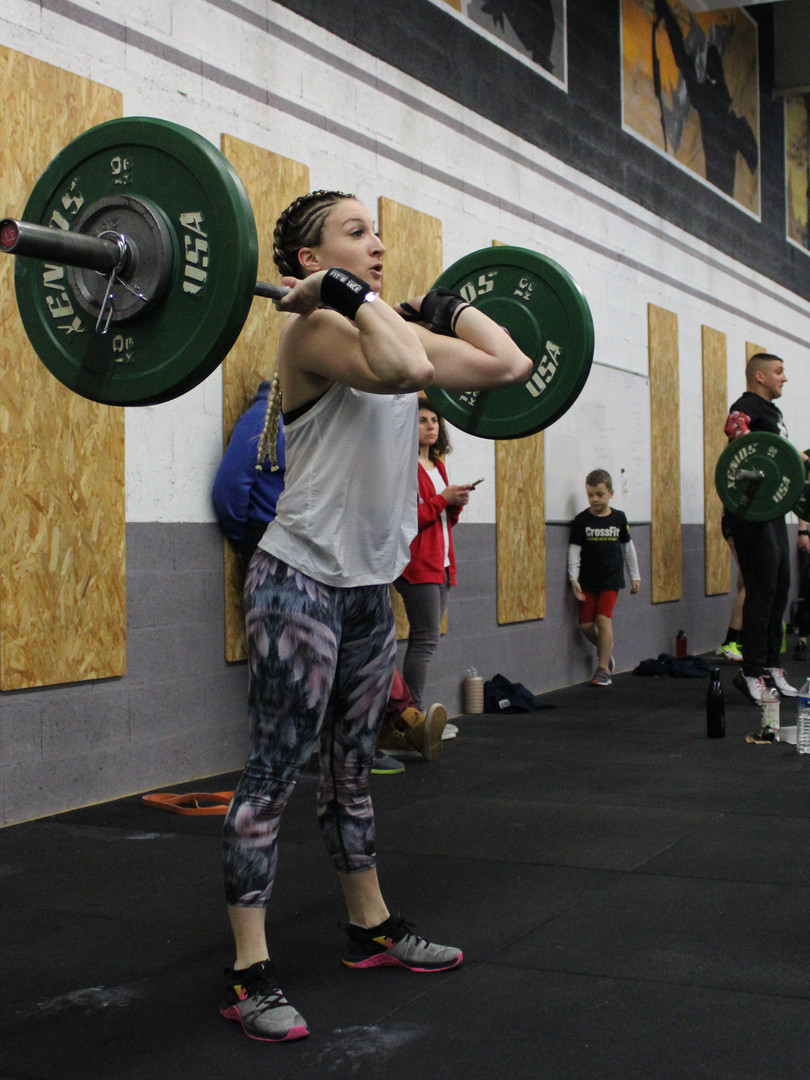 CrossFit Hiringa Metz - clean