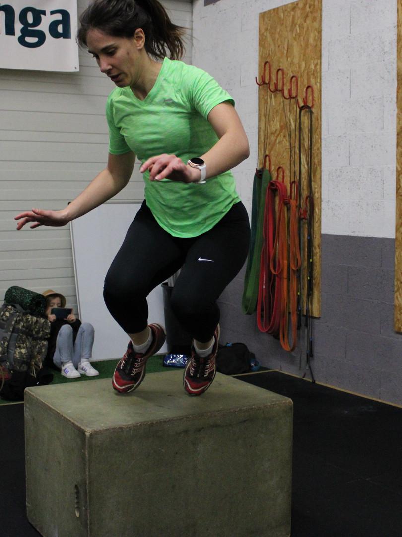 CrossFit Hiringa Augny - box jump