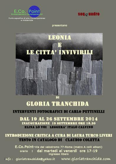 """""""LEONIA e le città invivibili"""" Roma 2014"""