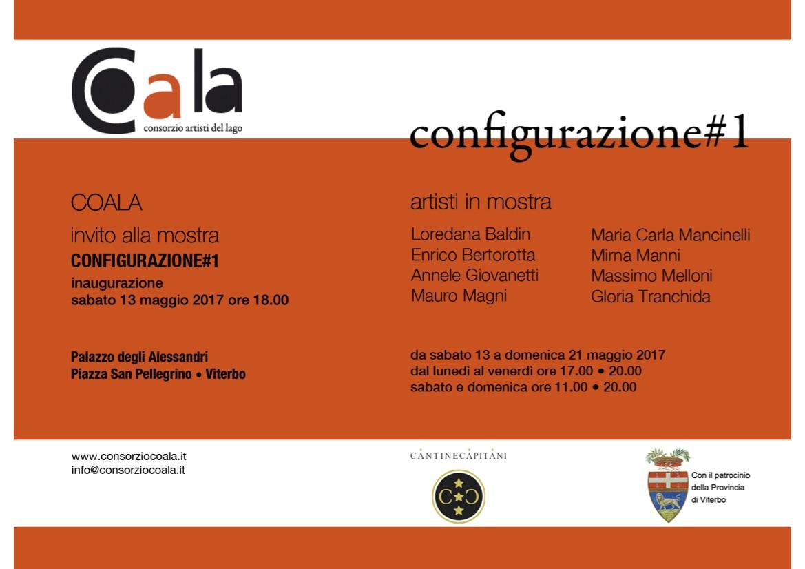 CoALa Configurazione #1 2017 Viterbo