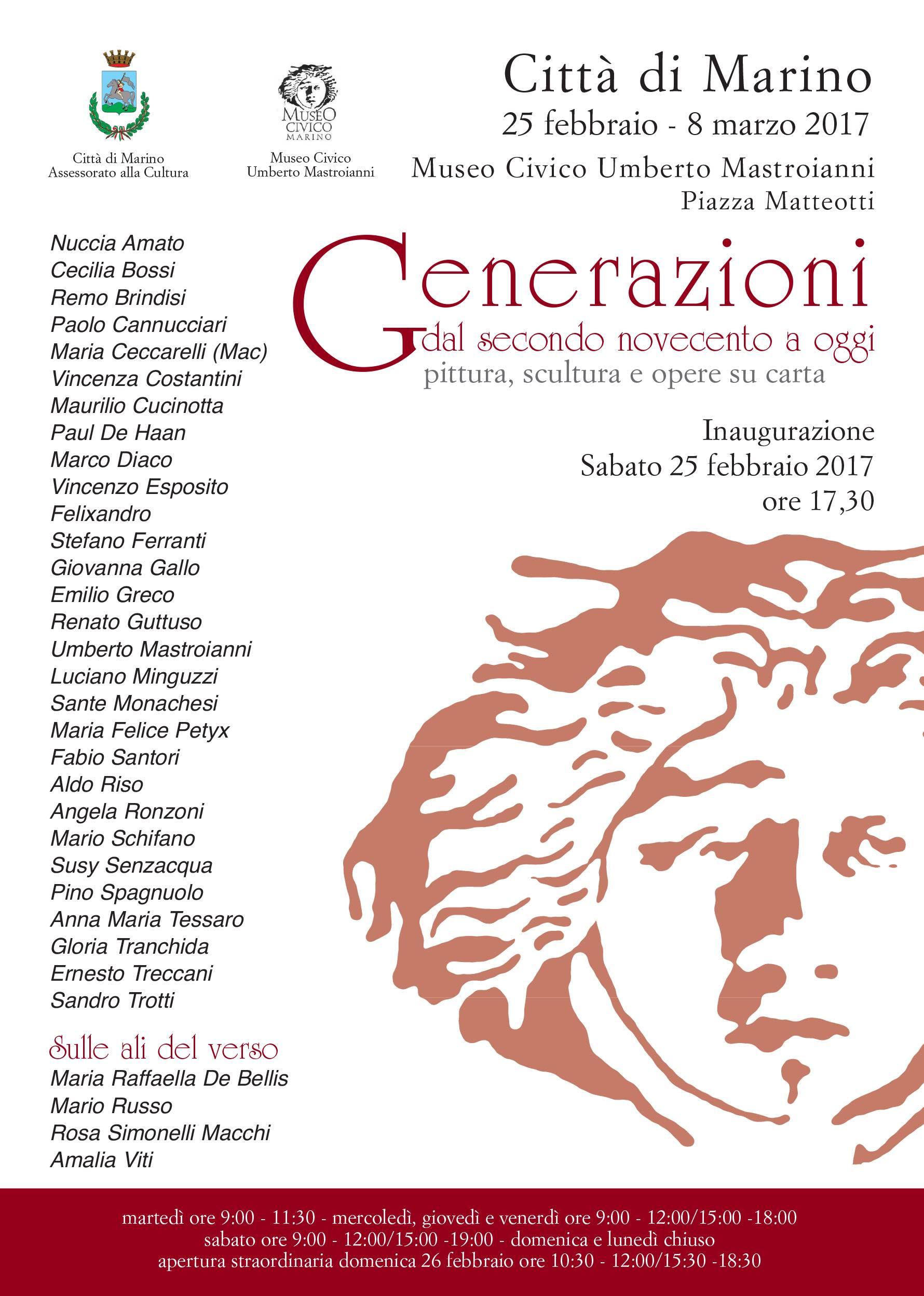 """""""Generazioni"""" - Marino 2017"""