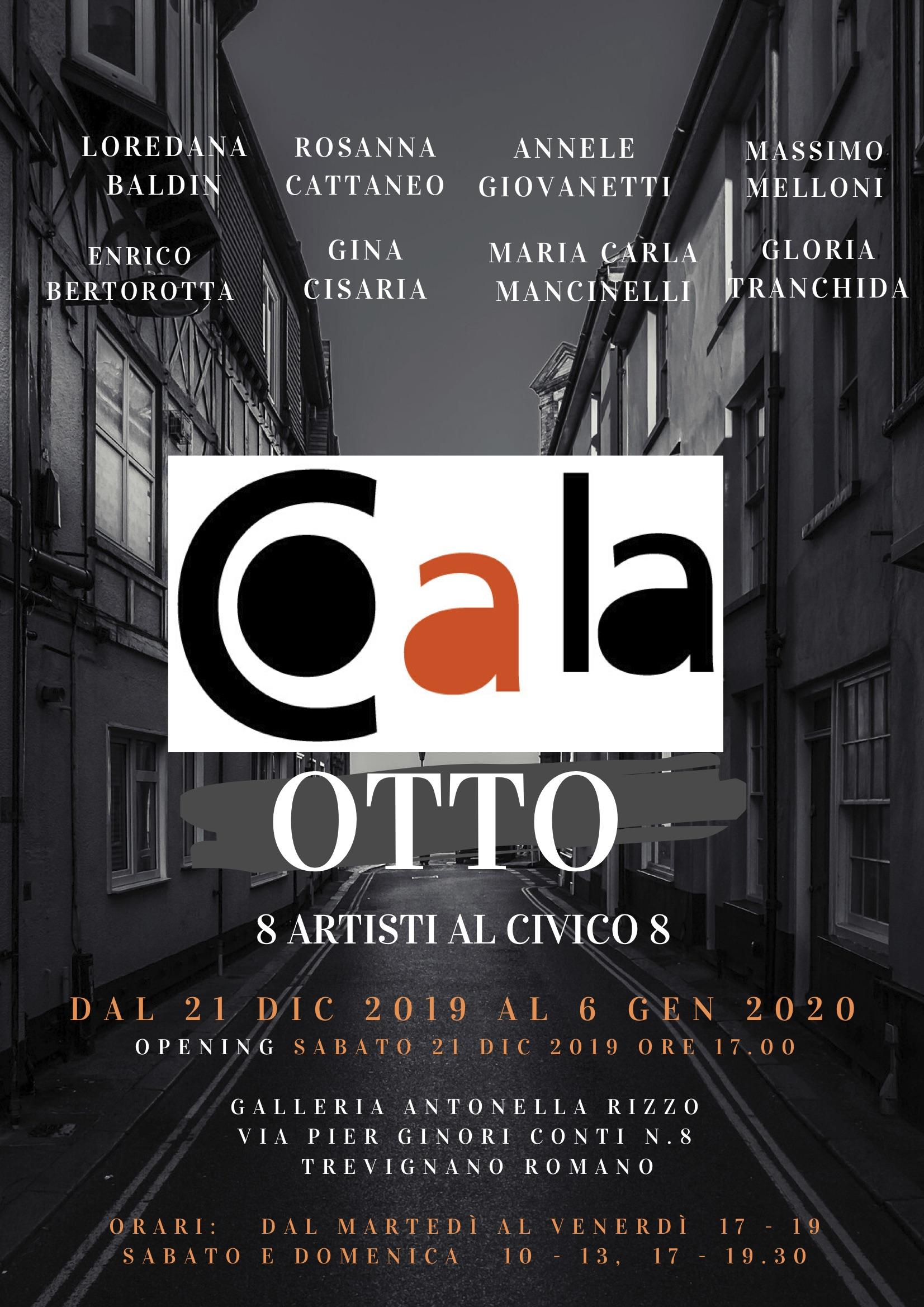COALA OTTO Otto Artisti al Civico 8 -  2019 Trevignano Romano